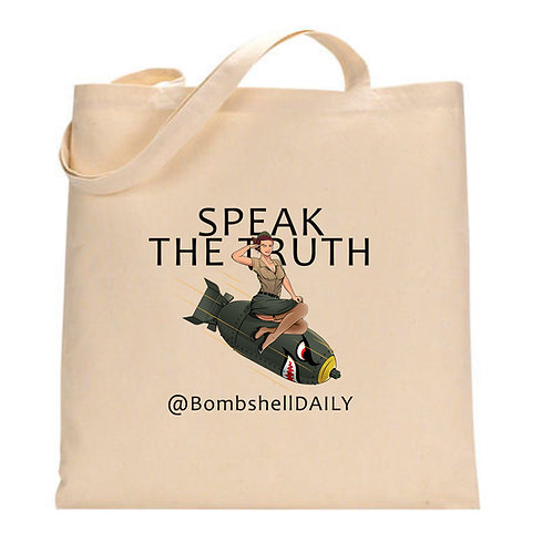Bombshell DAILY -Fundraising TOTE!