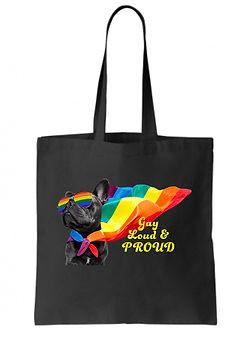 AMY- GAY LOUD &PROUD on tote bag.jpg