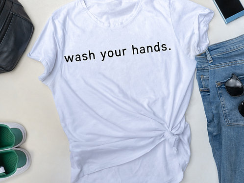WASH YOUR HANDS.  (The Cure Collection)