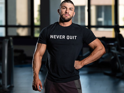 NEVER QUIT (Big and Tall)