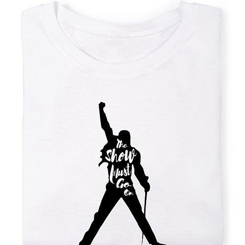 Freddie Mercury- The Show Must Go On