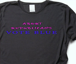 SUSAN- ABORT REPUBLICANS (on womens black shirt)_edited