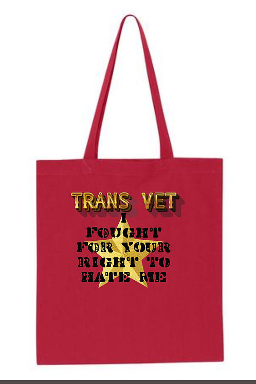 AMY-TRANS VET- I Fought For Your Right To Hate Me