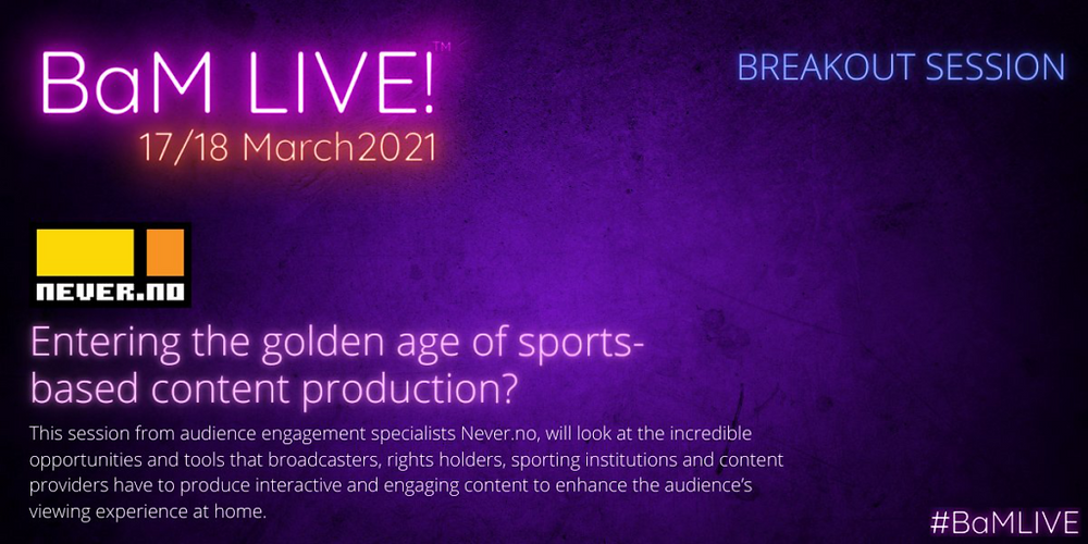audience engagement IABM golden age of sports-based content