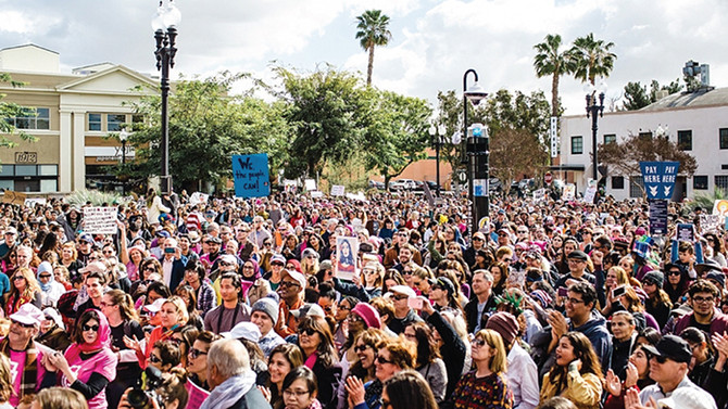 Herstory: 25,000 March in Orange County