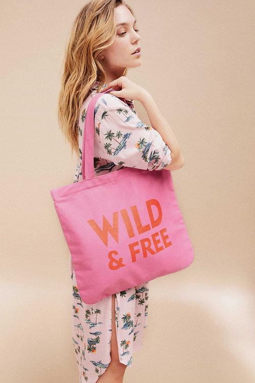 WILD - SHOPPING BAG PINK