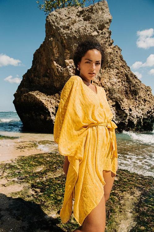 SUNDRESS - ILANA SHORT DRESS COVER UP LA PAZ BANANA