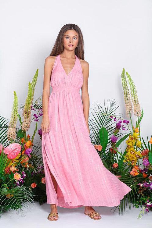 SUNDRESS - HAILEY LONG DRESS ROMA LIPSTICK