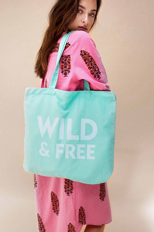 WILD - SHOPPING BAG MINT