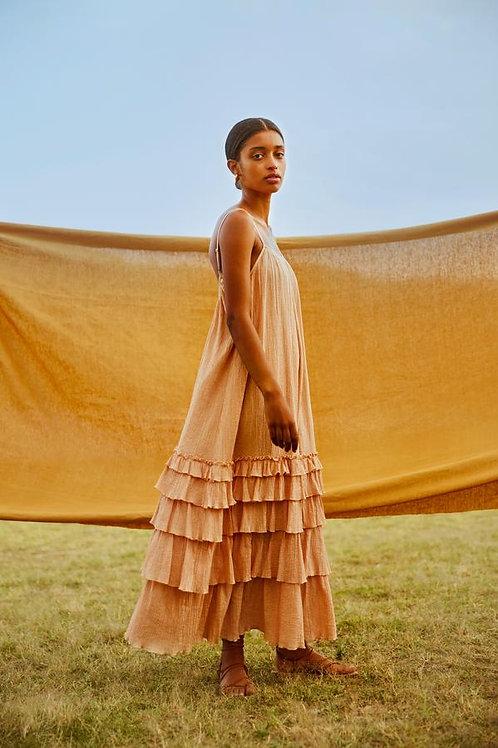 SUNDRESS - LEA LONG DRESS PACIFIC DESERT