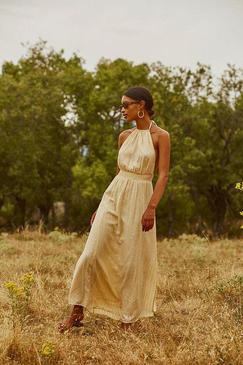 SUNDRESS - LAURIANA LONG DRESS ROMA VANILLA