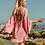 Thumbnail: SUNDRESS - INDIANA SHORT DRESS ROMA LIPSTICK