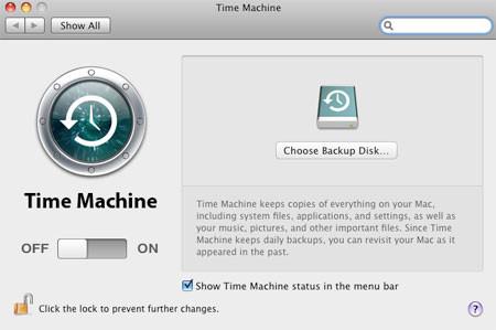 Time-Machine-Choose