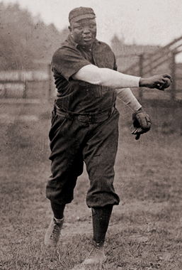 Rube Foster in action