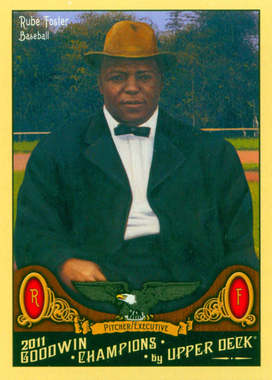 Rube Foster Collectors card