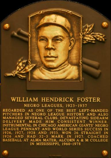 Bill Foster Plaque