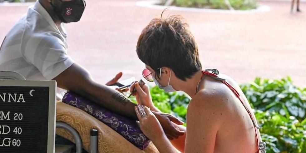 Henna at Society las Olas