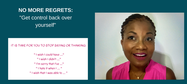 How to get control back over yourself!