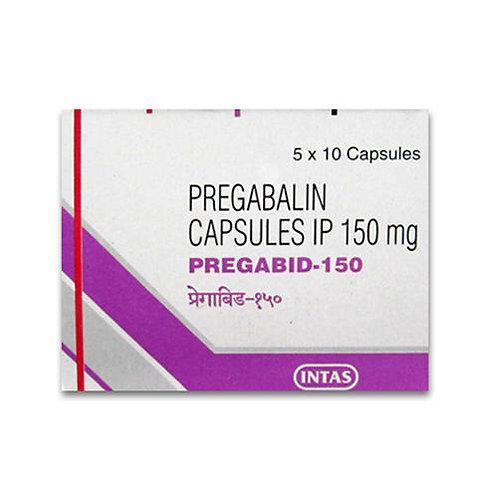 Pregabid  (Pregabaline)  (150mg) x 10 capsules