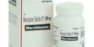 Nevimune (Nevirapine) 200mg x 60 tablets