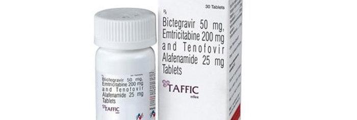 Taffic (bictegravir, emtricitabine and tenofovir alafenamide) x 30 table