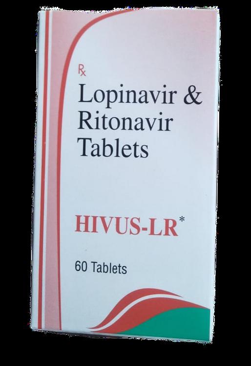 HIVUS-LR (Lopinavir and Ritonavir 200/50mg) x 60 pills