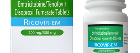DOUBLE Ricovir EM 2 x Bottles (60 pills total) .