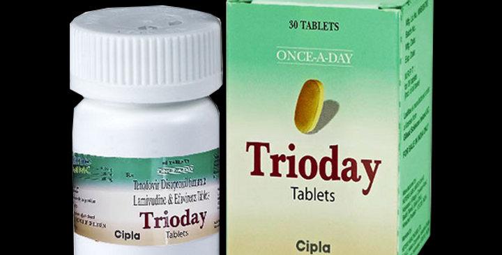 Trioday (Lamivudine + Tenofovir + Efavirenz) x 30 tablet