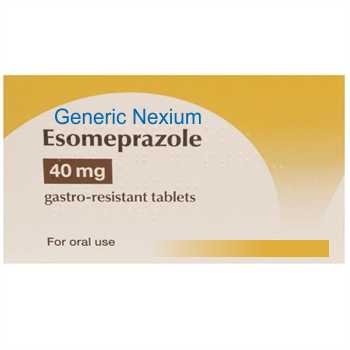 Generic Nexium 20/40mg x 10 tablets