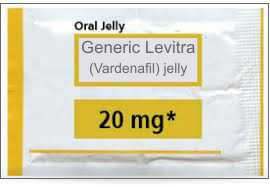 Generic Levitra Oral Jelly  x 1 5gm Sachet