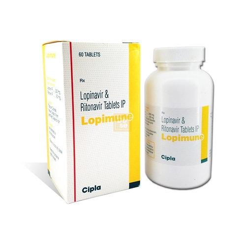 Lopimune (Lopinavir and Ritonavir 200/50mg) x 60 pills