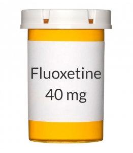 Generic Prozac (Fluoxetine) 20/40/60mg x 10 caps