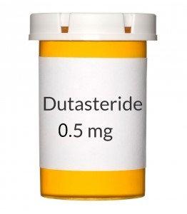 generic Avodart (Dutasteride 0.5 mg) x 15 caps