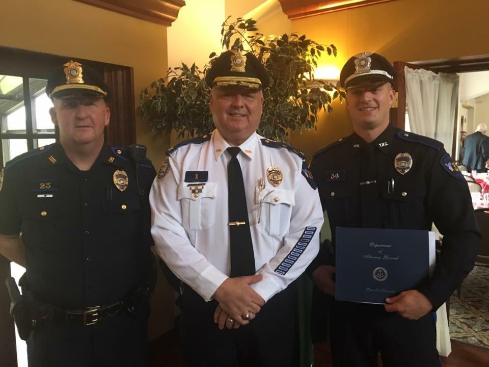 Officer Ripke Receives MADD Award