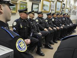 Tiverton Police Swearing in Ceremony