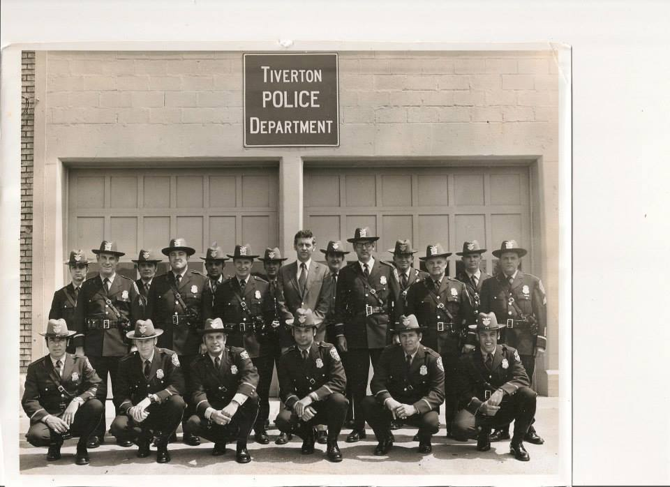 Members of the Tiverton Police