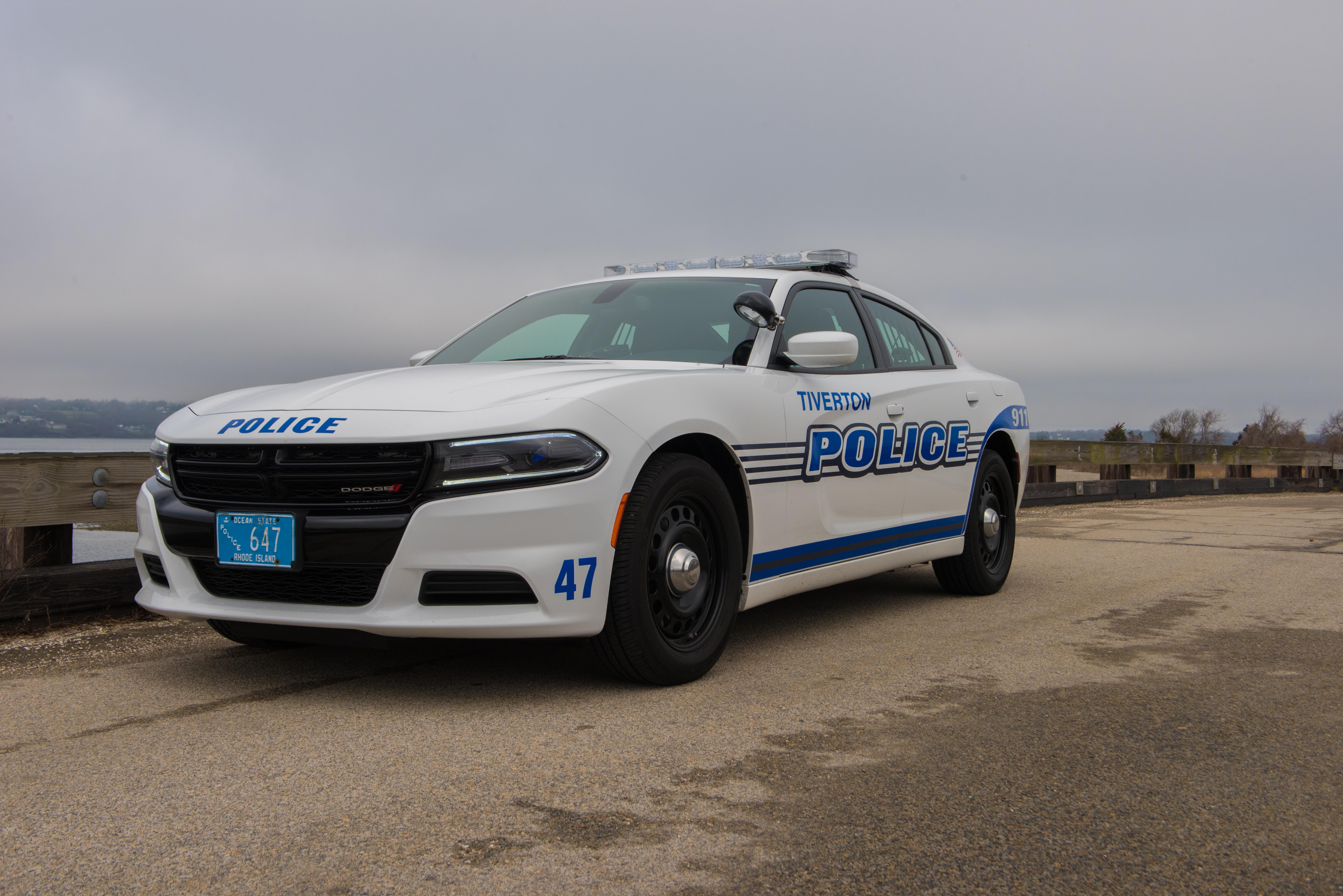 Tiverton Police Cruiser