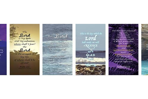 Faithful Cards, Psalm Edition