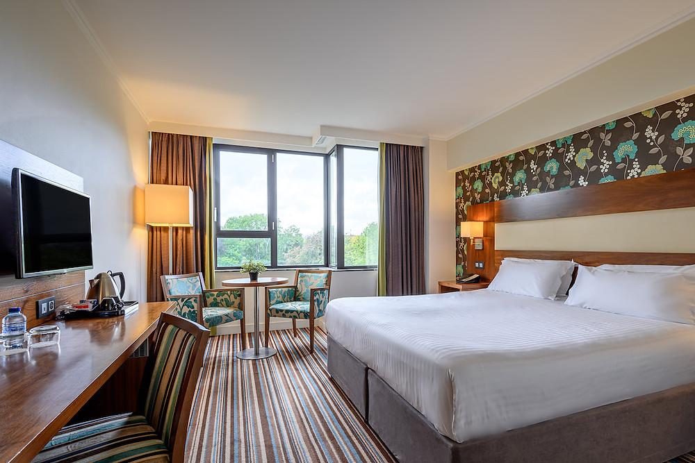 Mercure Antwerp City Centre Bedroom Leopold