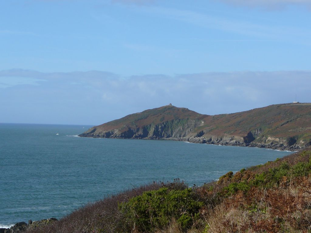 View towards Rame Head
