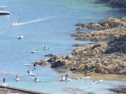 Paddle boarders Cawsand