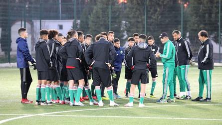 La sélection nationale U17 reste pour le moment clouée au sol !