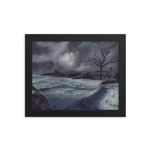 """""""Home"""" framed 8x10 print"""