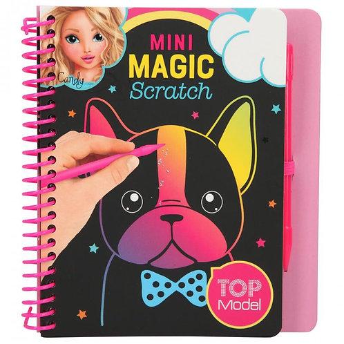 TOP MODEL MINI MAGIC SCRATCH BOOK-10708