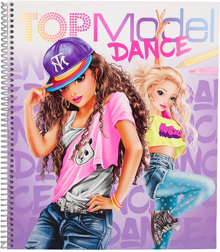 TOP MODEL CARTE DE COLORAT DANCE-10959