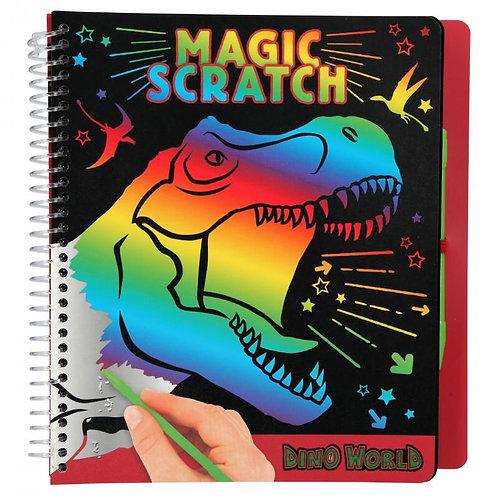 DINO WOLRD MAGIC SCRATCH BOOK-10833
