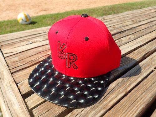 """The Original """"bR"""" Black Rabbit Hat - Hologram, Red/Black"""