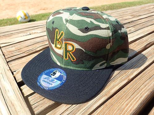 "The Original ""bR"" Black Rabbit Hat - Camo"