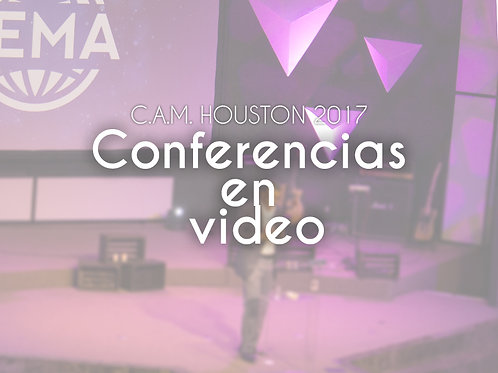 CAM HOUSTON 2017 Video Conferencias