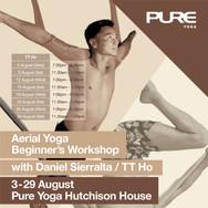 Aerial Yoga - Workshop - August 2015 - H